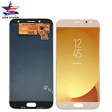For Galaxy J7 Pro 2017 SM-J730GM SM-J730F/FM J730DS LCD Touch Screen Gold_CA