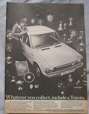 1972 Toyota Corolla 1200 coupe Original advert