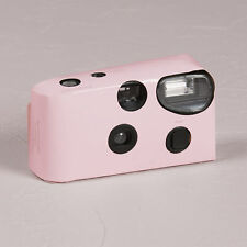 Disposable Camera with Flash Pastel Pink Favour Party Accessory 10 Pack
