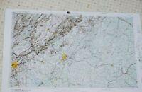 1855 GA MAP Fayetteville Fitzgerald Forest Park Gainesville Garden City HISTORY