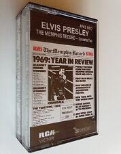 Elvis Presley The Memphis Record 2-Cassettes (Audio Cassette) Collectible RARE
