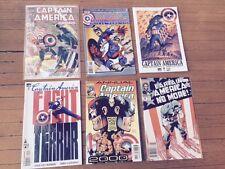 SIX (6) Captain America Comics: No More (Resigns) # 1, 2, 332, 344, 2000 Annual