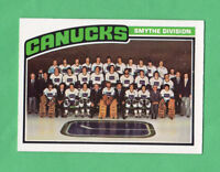 1976-77 OPC O PEE CHEE  # 148 Canucks Team nrmnt-mt