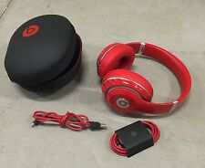Beats by Dr. Dre Studio 2.0 Wired Over-Ear Headphone Red - Seller Refurbished