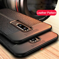 For OnePlus 7 Pro 6 6T 5T Shockproof Rubber Soft TPU Leather Slim Case Cover