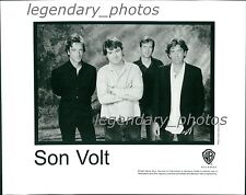 Son Volt Warner Brother Records Inc. Original Press Photo