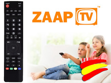 Mando a distancia para Decodificador SAT ZAAPTV HD509N HD409N CLOODTV