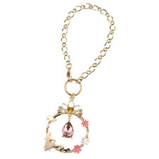 Rapunzel Tangled Bag Charm Chain Tiara DISNEY STORE JAPAN Jewel cute Free Ship