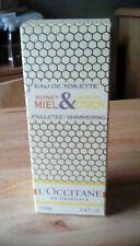 L'occitane Honey and Lemon shimmering EDT 100ml rare bn