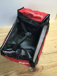 Snap-On Tools Large Cooler Tote Sports Bag Red Black Gray Glo-Mad Street Rod #E