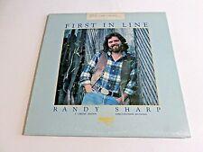 Randy Sharp First In Line LP 1976 Nautilus NR-1 Gatefold Vinyl Record