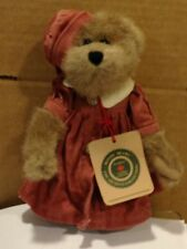 "Boyds Bear 8 inch Bear ""Sarah"" Canadian Exclusive Fully Jointed with Tags"