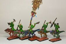 Warhammer Orcs and Goblins - Orruks - Savage Orc - Cold One Knights Conversion