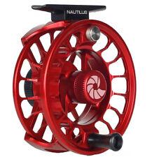 Nautilus X Series XL Reel (6/7 WT) Custom Red - Free US Shipping