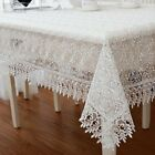 Z287 lace victorian tablecloth white rectangular floral gift pink wedding fabric