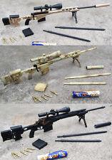 MSR_ABC MSR Remington Modular Sniper Rifle Figure Special Operation SET of 3 1:6