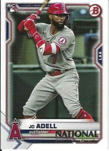 Jo Adell Los Angeles Angels  2021 Panini National Convention Rookie Card