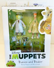 NEW Diamond Select Toys Disney The Muppets BUNSEN and BEAKER Action Figures