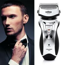 Men's Rechargeable Electric Shaver Double Mesh Blades Razor Groomer US Plug BG