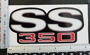 SS 350 Vinyl Decal Sticker 4209