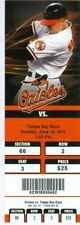 2011 Orioles vs Rays Ticket: Evan Longoria inside-park HR/Vladimir Guerrero HR