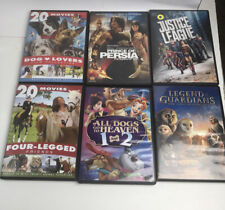 DVD - 6 Lot Family Kids Movie Bundle-  All Dogs Go To Heaven Dog Lovers