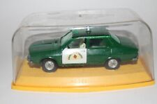 Pilen Toys, 1970's Renault 12-S Police, 1/43 Scale Made in Spain, Nice Original