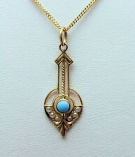 Necklace Turquoise Vintage & Antique Jewellery