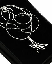 925 Sterling Silver Dragonfly Necklace