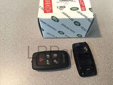 Land Rover Lr4 Discovery 4 10-12 Remote Control Key Fob Cover Case Genuine New