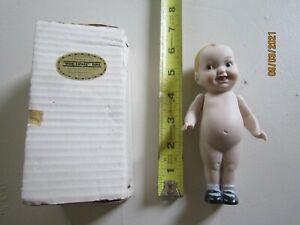 "Vintage Shackman Kewpie Doll 6"" Jointed Arms In Original Box Japan Fine Bisque"