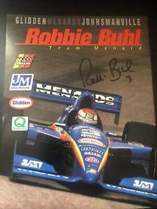 Robbie Buhl Signed 1998 Menards Indy 500 Handout