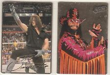 *Super Rare* 1995 Action Packed WWE Prototype Card Set UNDERTAKER & MACHO MAN