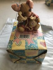 """Enesco 1994 Tlp This Little Piggy Figurine """"Sow Are Things With You"""" 130907"""