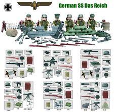 Nazi german army World War minifigures bricks building blocks construction lego