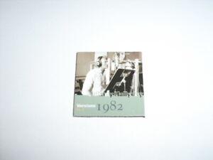 "JOHNNY HALLYDAY Magnet Aimant Album ""Versions 1982 vol.2""."