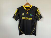 Adidas Tanzania National Team Soccer Jersey sz Adult S/M Africa Black claimcool
