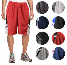 Men's Basketball Athletic Workout Active Lightweight Mesh Fitness Sports Shorts