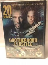 20 Movies Brotherhood of Justice Over 28 hours of Movies DVD New