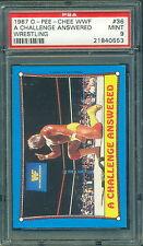 1987 OPC WWF WRESTLING #36 HULK HOGAN PSA 9 MINT!! POP:3