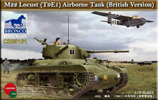 Bronco 1/35 35161 M22 Locust (T9E1) Airborne Tank (British Version)