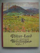 Pfälzer-Land deutsche Weinstraße Landschaftsbilder Pfälzer Maler 1978