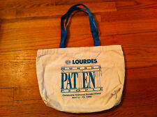 vintage tote bag nurses Our Lady of Lourdes hospital New Jersey Nurses week 1996