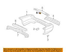 Acura HONDA OEM 01-02 MDX Rear Bumper-Cap 71503S0X000ZN