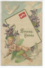 Postcard Angels, Angel, Cherub, Bonne Year