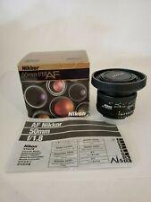 Nikon AF NIKKOR 50mm f/1.8D Lens - Black