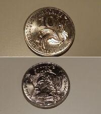 Pièces monnaie ancienne de 10 francs 1986 JIMENEZ