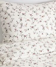 Ikea Ljusoga King Duvet Set, 240 x 220 cm, Flower Pattern 4 Pillowcases, BNWT