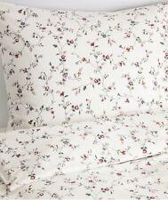 Ikea Ljusoga Double Duvet Set, 200 x 200 cm, Flower Pattern 4 Pillowcases, BNWT