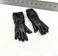 1/6 Scale Soldiers Model WWII German Fallschirmjage Green Devil Leather Gloves